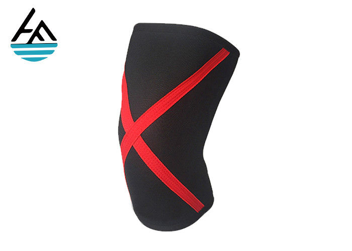 Breathable Neoprene Compression Knee Sleeve Strong Support For Heavy Weight Squat