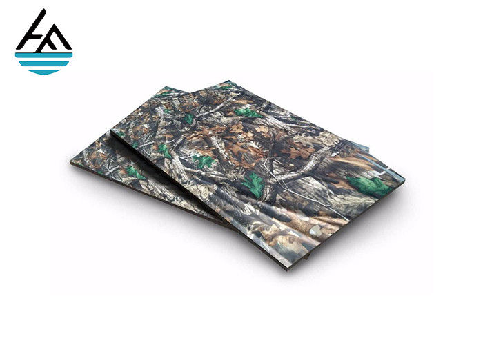 3 Mm Thick Neoprene Fabric Sheets Camouflage  Laminated Camo Snow Printing
